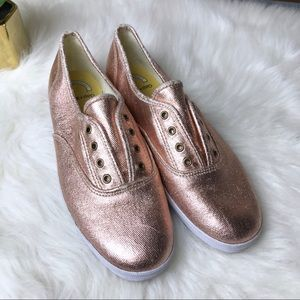 Gap + Keds (M) Rose Gold Sneakers Shoes